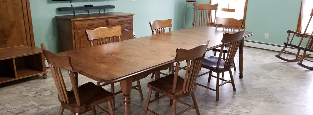 Handcrafted quality furniture discovered in Vermont